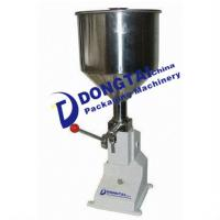 Buy cheap Manual paste / lotion filling machine for food industry product