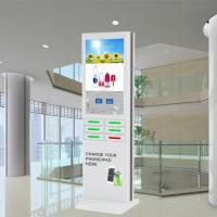 Buy cheap Coin Operated Mobile Phone Charging Station , Cell Phone Charger Kiosk product