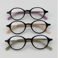 Buy cheap Retro Acetate Round Eyeglasses Frames, Custom Handmade Acetate Optical Frames from wholesalers