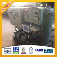 Buy cheap IMO Standard 0.5m3/h Oil Water Separator for Sale product
