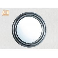 Buy cheap Pratical Glass Framed Fiberglass Wall Mounted Vanity Mirror Round Shape product