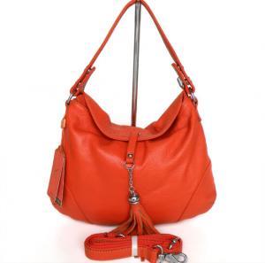 Buy cheap Lady Style Popular Orange Leather Handbag Messenger Shoulder Bag #2490 product