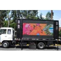 Buy cheap DVI  Horizontal: 150° Vertical: 90° Truck Mounted Led energy-saving Color Screen product