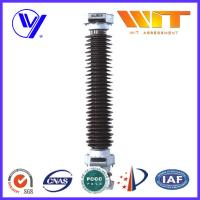 Buy cheap 126KV Zinc Oxide Power Station Substation Arrester Lightning Diverter With Porcelain Housed from Wholesalers