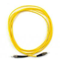 China ST-FC Singlemode / Multimode Optical fiber patch cord Simplex / Duxplex OTDR Certicated on sale