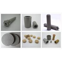 Buy cheap oem stainless steel powder sintered filter custom  industrial coal filter product
