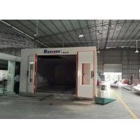 Buy cheap LED Light Infrared Spray Booth , Outside Paint Booth 8M Length 4.5 M Width product