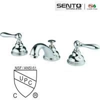 Buy cheap Classic style double handle basin faucet for bathroom design product
