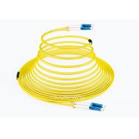China FTTH LC - LC SM DX Glass Fiber Optic Cable Patch Cord 1m 3m 5m Length on sale