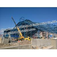 China Mine Industry PEB Structural Steel Fabrications Pipe Truss Structure on sale