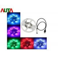 Buy cheap USB RGB LED Strip Light Waterproof Decorative String for Notebook 100cm product