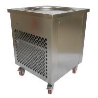 Buy cheap Simple Operation Manual Fried Ice Cream Roll Machine Single Pan Cold Plate product