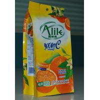 Quality Moistureproof Food Grade Plastic Bags for Orange Juice Powder for sale