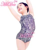 Buy cheap Confetti Strechy Spandex Zebra Animal Prints Sleeveless Leotard Dance Wear Accessories product