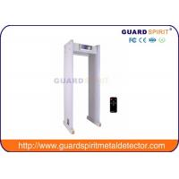Buy cheap Airport Security Metal Detectors With Led Display , Alarm Lights from Wholesalers