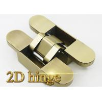 Buy cheap Heavy Duty Adjustable Invisible Door Hinges For Wood Door / Steel Door / Security Door 191 * 45 * 45 mm product