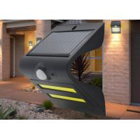 China Small LED Solar Outdoor Wall Lights Exterior Motion Lights 6-8 Hours Charging Time on sale