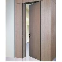 Quality Italy Desgins Cool Aluminum Frame Hidden Front Doors System Solution in Houses for sale
