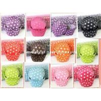 Buy cheap Beautiful Polka Dots Design Paper Cake Cup (MKKA110) product