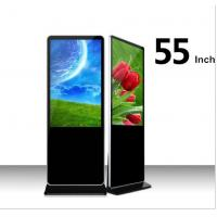 Buy cheap Wholesale 55 inch LCD in convention Display Screen Android Floor Standing LCD Advertising Player with wifi product