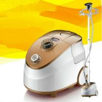 Yellow Plastic Hanging Garment Steamer  Automatic Shut - Off For All Fabric
