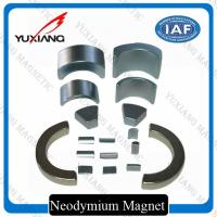 Buy cheap Sever Motor Neodymium Iron Boron Magnets , N38SH Tiny Strong Magnets OEM / ODM product
