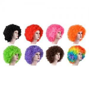 Football fans wigs