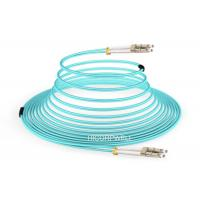 Buy cheap FTTH LC - LC OM3 150 M DX Glass Fiber Optic Cable Patch Cord 1m 3m 5m product