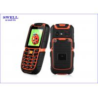 Buy cheap Dual Sim Rugged Rubber Dustproof Military Grade Cell Phone S6 Surpporting MP3 product