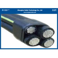 China 4*35 4*50 ABC Low Voltage Aerial Bundled Cable PE Insulation Aerial Insulation Line on sale