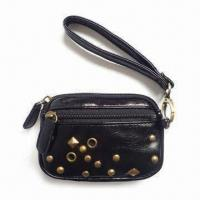 Buy cheap Coin Purse with Main Compartment with a Front Pocket, Measure 13 x 2 x 9cm product