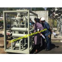 Buy cheap High Vacuum Insulation Oil Recycling System,Transformer Oil Filtration Machine project product
