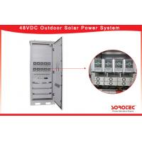 Buy cheap 48VDC Telecom Solar Power Systems , Outdoor Telecom Rectifier System 50A Maximum from wholesalers