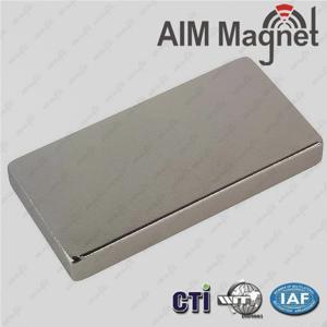 Buy cheap High Quality Sintered NdFeB/Neodymium Magnet 1/4  x 1/8  x 1/2  product