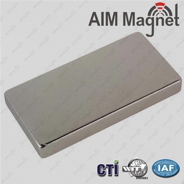 "Quality Permanent Neodymium Magnets N35--N52 3/8 "" x 0.136"" x 1/8 "" for sale"