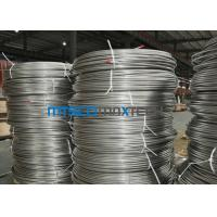 1 / 4 Inch ASTM A269 Stainless Steel Coiled Tubing For Oil / Gas Industry