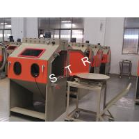 Buy cheap Cabinet Small Sand Blasting Machine / Small Metal Parts Automatic Sandblaster product