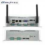 I3 Fanless Industrial Computer 6COM 3217U CPU Intel HD 4000 Graphics Dual LAN