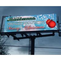 Buy cheap Aluminum or Iron Electronic Outdoor Energy Saving 30% Led Billboard Advertising P10 1R1G1B product