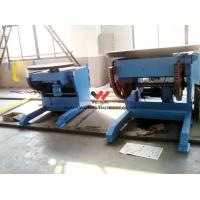 Buy cheap Blue Self - Adjustable Pipe Welding Positioners Vessel Loading , T-slots For Clamping product