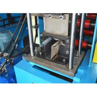 Buy cheap Hat Unistrut Channel Roll Forming Machine , Metal Forming Equipment Control System Plc product