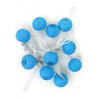 Buy cheap Romantic Round Paper Ball String Lights , Outdoor Mini Lantern String Lights product