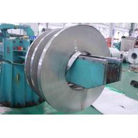 201 / 410 BA Stainless Cold Rolled Steel Strip With Slit Edge , PVC Coated