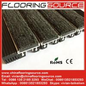 Entrance Flooring Aluminum Matting for high traffic heavy duty use