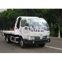 Buy cheap Durable 6 Tons Wrecker Tow Truck , Flatbed Breakdown Recovery Truck For Rescue Conditions product
