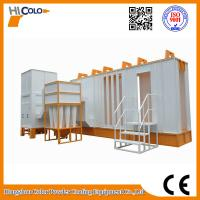 Buy cheap Automatic Cylcone Painting Booth  With Seond Filter Recovery System product