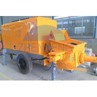 Buy cheap 39 Kw Diesel Motor Small Concrete Pump , Diesel Lightweight Concrete Mixer Pump product