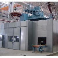 Buy cheap Customized Color Sandblasting Room , Sandblasting Chamber Abrasive Recovery System Type product