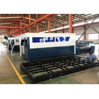 Buy cheap 4kw CNC Fiber Laser Cutting Machine For Metal Carfts & Decoration product