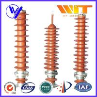 Buy cheap 39KV - 51KV Electronic Substation Lightning Arrester with Polymer Housing from Wholesalers